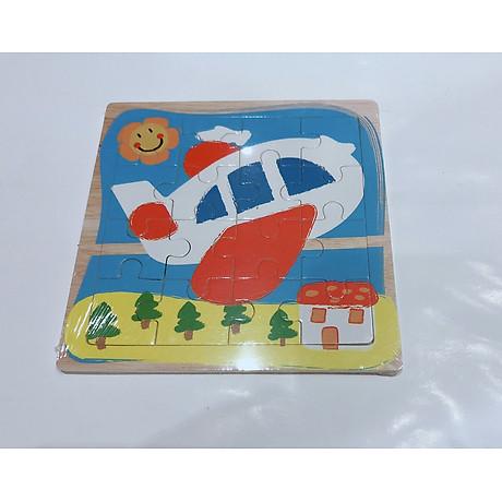Combo Tranh ghép hình 16 miếng bằng gỗ cho bé tặng kèm bấm móng tay hình thú siêu dễ thương và tiện dụng 8