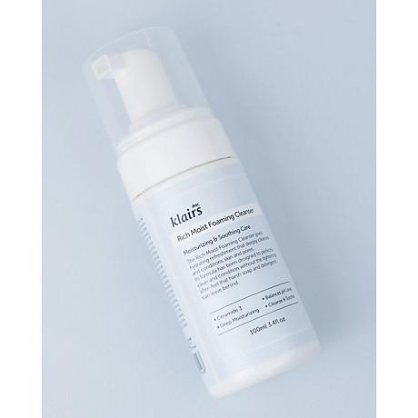 Sữa rửa mặt Klairs Rich Moist Foaming Cleanser 3