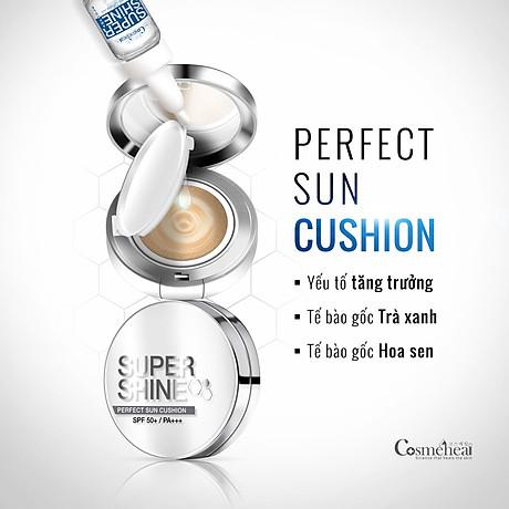 Phấn nước COSMEHEAL SUPER SHINE PERFECT SUN CUSHION 3