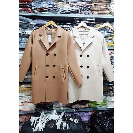 áo khoác dạ nữ dài 5