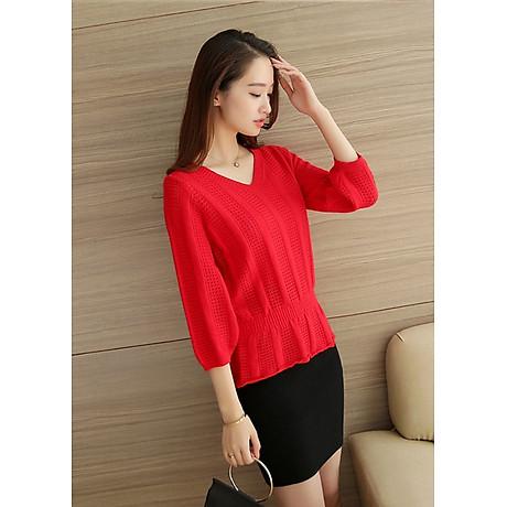 Áo len nữ nhẹ nhàng freesize Haint Boutique Al50 3