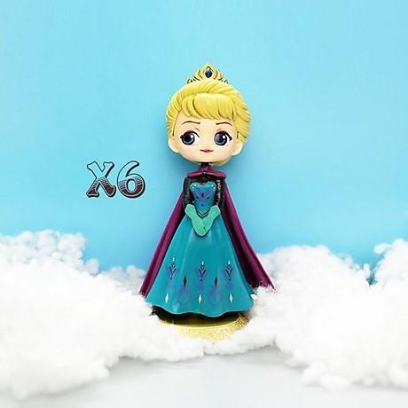 Búp bê công chúa Elsa trang trí bàn học, trang trí bàn làm việc, làm đồ chơi 2