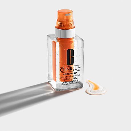Clinique ID Hydrating Jelly + Concentrate for Irritation Orange - Dưỡng Dạng Thạch Giúp Giảm Căng Thẳng Trên Da 3