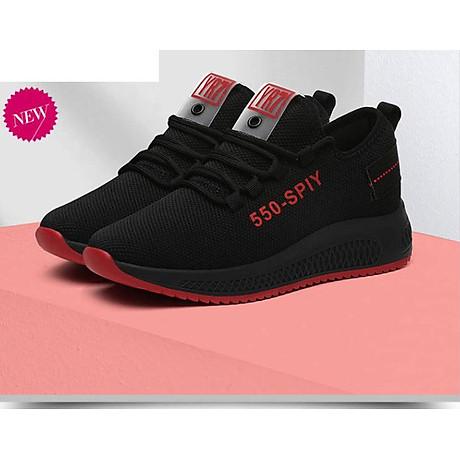 Giầy thể thao nữ, giày sneaker nữ buộc dây V202 6