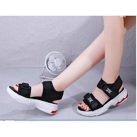Giày Sandal nữ quai dán cá tính, năng động - SD69 6
