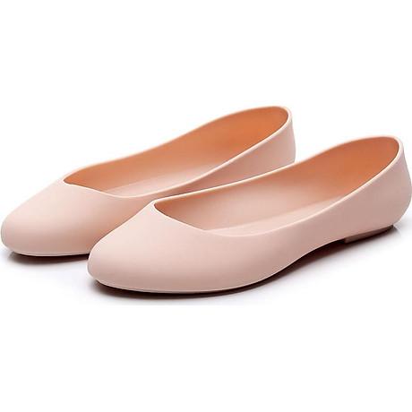 Giày nhựa đi mưa búp bê công sở đế mềm siêu nhẹ form chuẩn 182 5