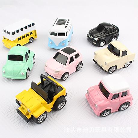 Bộ 8 Ô Tô Mô Hình Đồ Chơi MINI CAR Cho Bé Trai 7