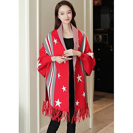 Áo khoác len in họa tiết ngôi sao GOTI1474330 3