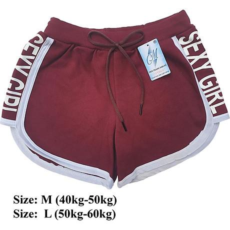 Combo 5 Quần đùi nữ SEXY GIRL dây rút, thể thao, tập gym, yoga, mặc nhà, giá rẻ, quần short nữ cao cấp ( Giao màu ngẫu nhiên ) 7