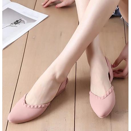 Giày nhựa đi mưa cao 3.5p, xăng đan phong cách Hàn Quốc màu đen, kem, hồng mẫu V192 1