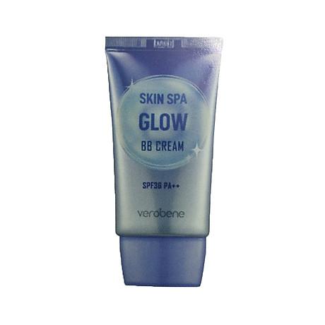 Kem Nền Trang Điểm, Chống Nắng _Verobene Skin Spa Glow BB Cream SPF36 PA++ 40ml 1