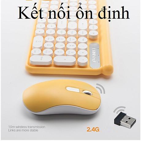 Bộ bàn phím và chuột không dây LT400 phiên bản sạc (tặng kèm lót chuột) - Hàng Nhập Khẩu 4