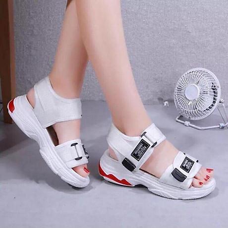 Giày Sandal nữ quai dán cá tính, năng động - SD69 1