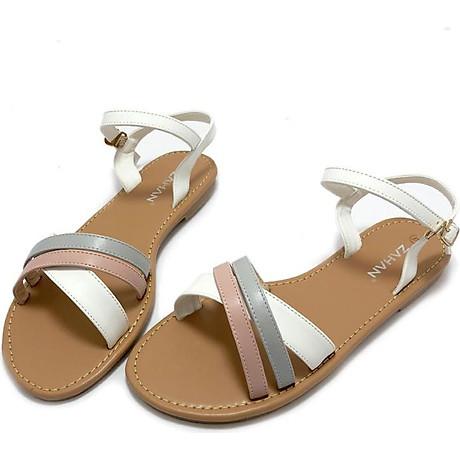 Sandal ZAHAN bệt, quai chéo, SDZA03 1