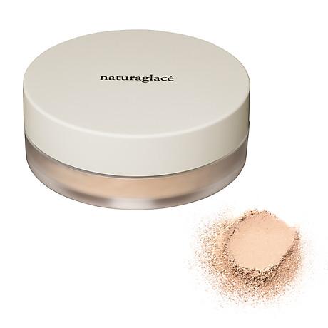 Phấn phủ hữu cơ chống nắng dạng bột size mini-naturaglacé LOOSE POWDER-01 Màu da sáng 3