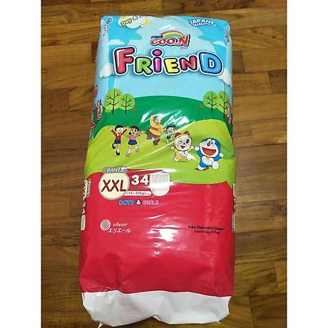 Tã quần Goo.n Friend super jumbo XXL34 miếng 1