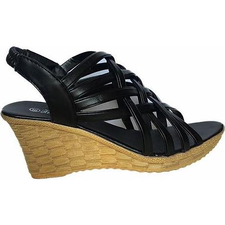 Giày Sandal Nữ Đế Xuồng Rọ C63 1