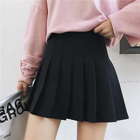 Chân Váy TennisKẻ Caro Hàn Quốc Siêu Xinh VT01 8