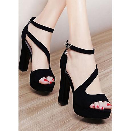 Giày cao gót đan chéo cao cấp 1