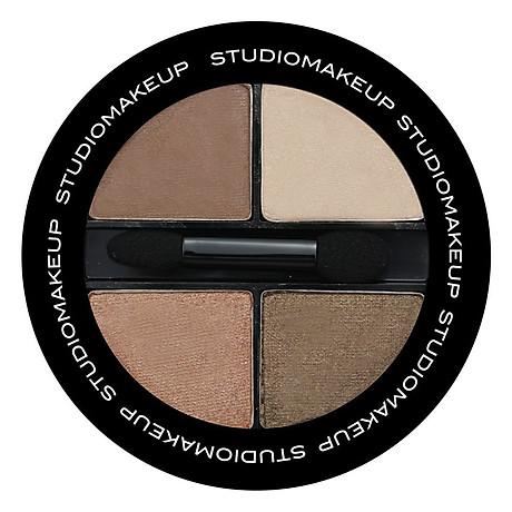 Bảng Phấn Mắt 4 Màu Studiomakeup Eyeshadow Quad SEK (6g) 1