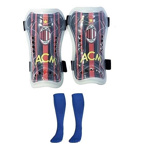 Combo Bó ống đồng đá bóng trẻ em các câu lạc bộ + Tất đá bóng dài trẻ em - Giao màu ngẫu nhiên (Free size) 4