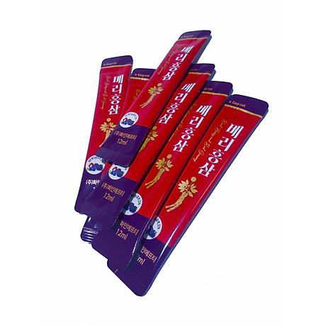 Nước Hồng Sâm Quả Mọng Cung Cấp Collagen Và Vitamin Berry Red Ginseng Plus 360g (12g x 30 gói) Hàng Nhập Khẩu Cao Cấp 7