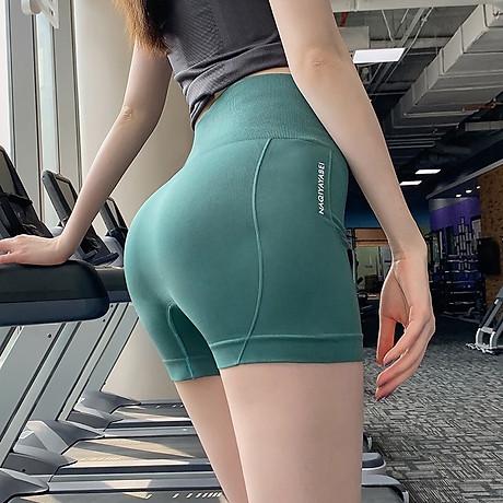 Quần Đùi Tập Gym, Tạp Yoga Nâng Mông, Lưng Siêu Cao Tôn Dáng Cho Nữ - Tặng 1 kẹp trái tim 1