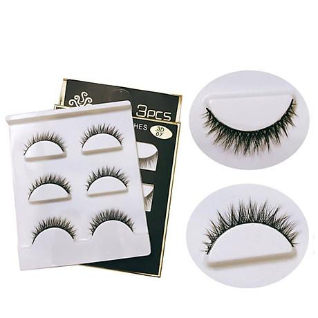 Lông mi chồn 3 Fashion Eyelashes 3 Faux (Dày mi L8) 1