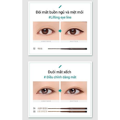 Gel chì kẻ mắt Bbia Last Auto Gel Eyeliner Slim 0.1g (5 màu) 8