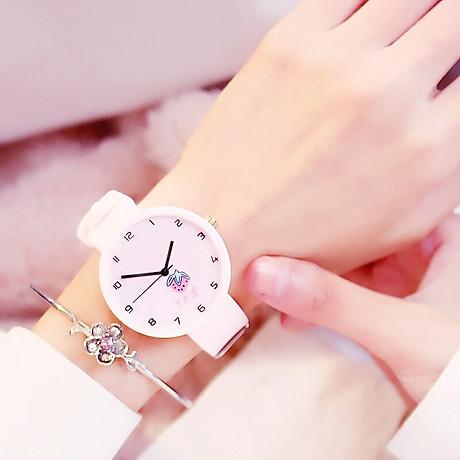 Đồng hồ nữ trái dâu Nhật Bản 4 màu thời trang 3