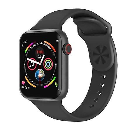 Đồng hồ thông minh Smart Watch theo dõi sức khỏe Watch 5 theo dõi nhịp tim vận động ( Giao màu ngẫu nhiên) 1