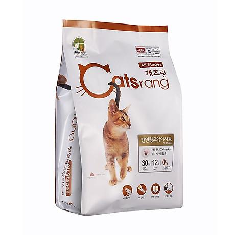 Thức ăn hạt cho mèo Hàn Quốc Catsrang 1