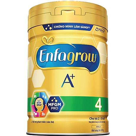 Combo 1 lon sữa bột Enfagrow A+ 4 870g - Tặng 1 đồ chơi trống lắp ghép sáng tạo 4