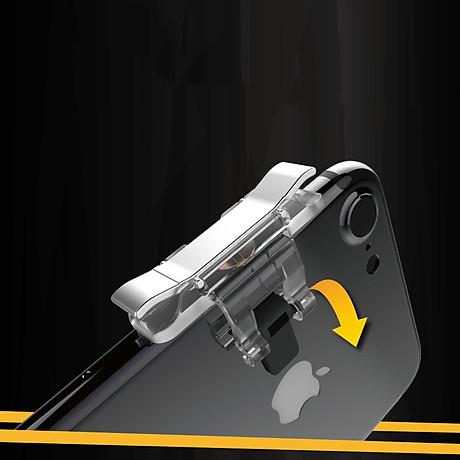 Bộ 2 Nút Chơi Game Pubg Mobile, Ros, Cf Dòng E9 Trong Suốt (Đỏ Hoặc Bạc) 7