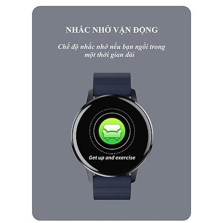 Đồng hồ thông minh đo nhịp tim, theo dõi sức khỏe T4 Pro ( Thiết kế sang trọng, chống nước cao IP68 ) - Hàng Nhập Khẩu 3