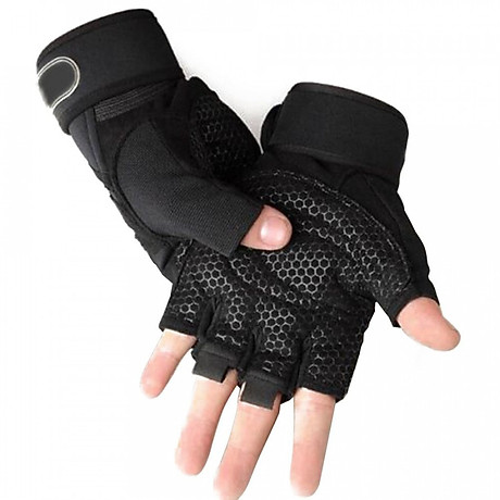 Găng tay tập gym có quấn cổ tay VJ1125 1