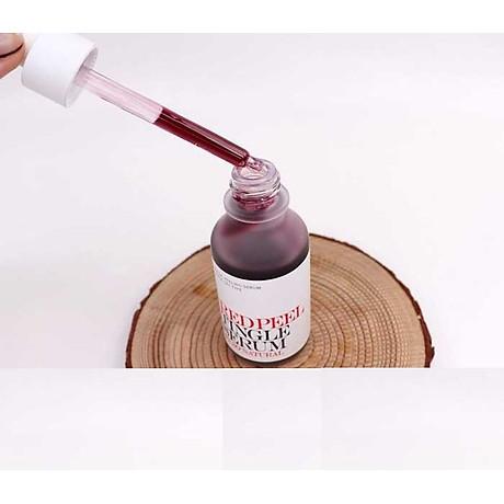 Tinh chất tái tạo da sinh học So Natural Red Peel Tingle Serum Tái tạo da 35ml+ Tặng kèm 1 mặt nạ sủi bọt Su m 37 Đen 5