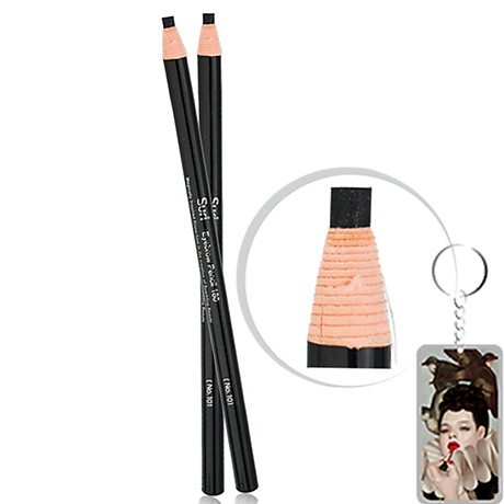 Chì mày xé Suri Eyebrow Pencil Hàn Quốc tặng kèm móc khoá 1
