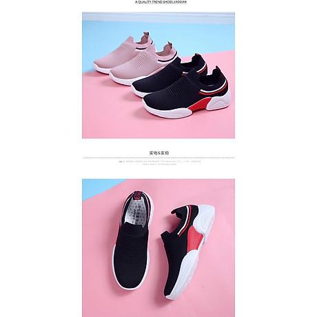 Giày thể thao SNEAKER cổ chun, kiểu dáng siêu đẹp cho nữ - SB75 4