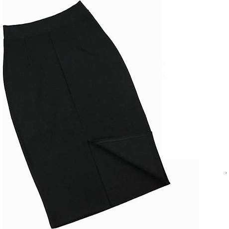 Chân Váy Bút chì công sở xẻ tà SAU duyên dáng, vải umi cao cấp 7