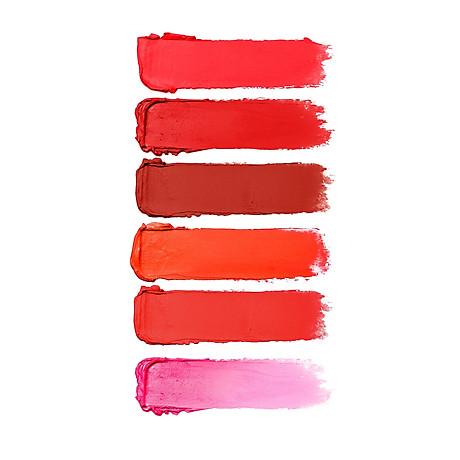 Son (Hàn Quốc) lì lâu trôi No1 (Đỏ san hô) _Javin De Seoul Flower For Me Velvet Lipstick - Red Coral 1 5