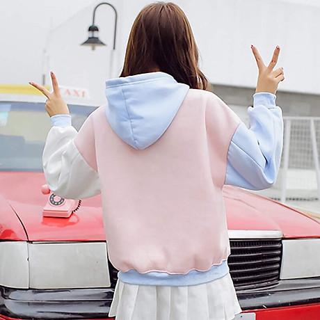Áo hoodie nữ ABC 5
