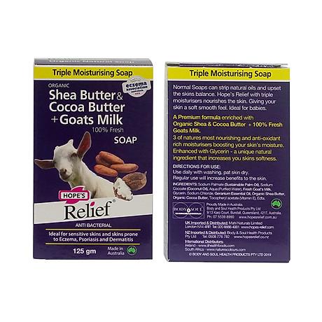 Xà bông Hope s Relief cho da khô ngứa, eczema, vảy nến, viêm da (125g) 3