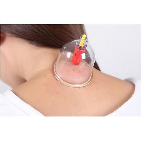 Massage toàn thân giác hơi 24 ống Bằng Nhựa Nguyên Sinh 6