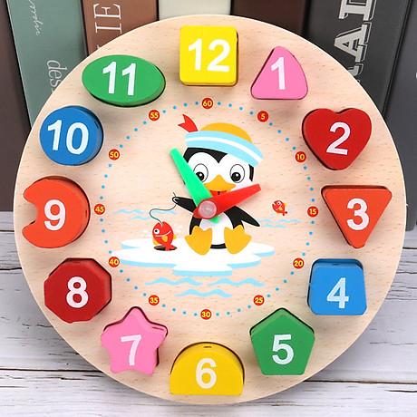 Combo 6 món đồ chơi gỗ an toàn cho bé- phát triển trí tuệ - Tă ng ke m theo bô đô chơi đâm ha i tă c cho be 5