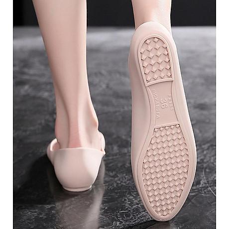 Giày nhựa đi mưa búp bê công sở đế mềm siêu nhẹ form chuẩn 182 7
