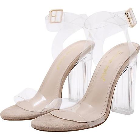 Giày Sandal Cao Gót - Trong Suốt 2