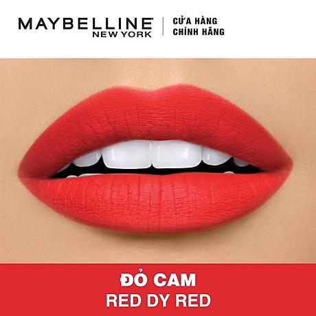 Son Lì Siêu Nhẹ Môi Maybelline New York Color Sensational Powder Matte 3.9g 3