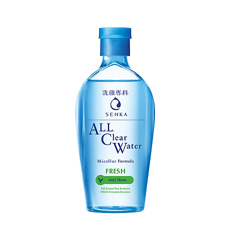 Nước tẩy trang sạch thoáng Senka A.L.L.Clear Water Fresh 230ml 2