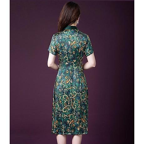 Đầm quý bà lụa Cao Cấp Sang Trọng - HATI DN9046 5